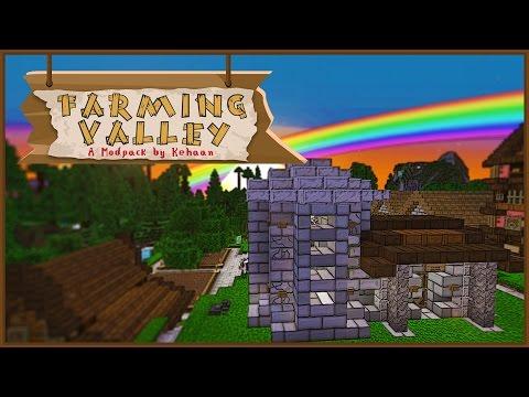 Minecraft Farming Valley - Blacksmith! #5 [Mini Series]