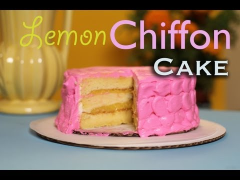 How to make Chiffon Cake - Baking with my Sub's