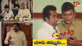 Brahmanandam & AVS Comedy Scenes | Back to Back | NavvulaTV - NAVVULATV