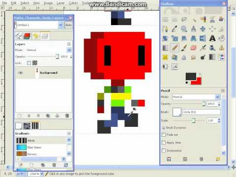 Pixel Art Tutorial Series - Part 5: Simple Animation - Run Cycle