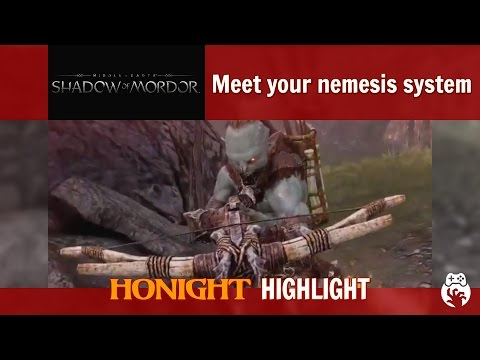 Shadow of Mordor - Meet your nemesis system