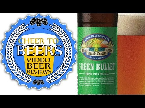 Green Flash Green Bullet Beer Review | Cheer to Beers