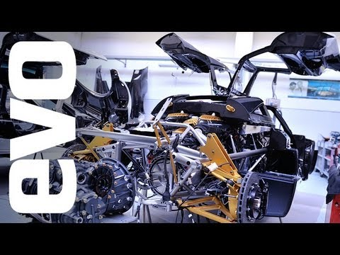 Pagani Factory: Inside the Huayra