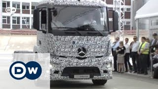 Into the future: Mercedes Urban eTruck | Drive it! - DEUTSCHEWELLEENGLISH