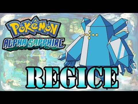 Caçando Lendários [Pokémon Alpha Sapphire] - Regice
