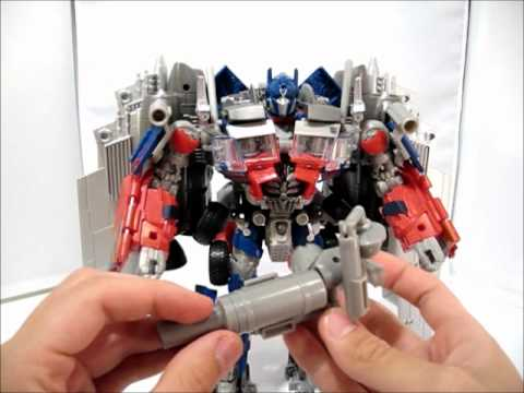 Transformers DOTM Takara Tomy Exclusive JETWING OPTIMUS PRIME Video Review