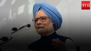 Manmohan praises Rahul Gandhi for hard work in Himachal, Gujarat - TIMESOFINDIACHANNEL