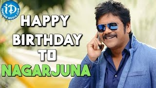 iDream Media Wishes Nagarjuna a Very Happy Birthday || Special AV on King Nagarjuna - IDREAMMOVIES