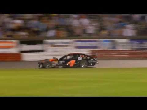 Huge Modified crash at Bowman Gray Stadium 6-4-2011