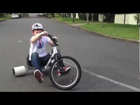 GoPro HD - Homemade Drift Trike || Slide Away