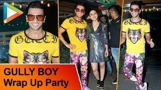 Ranveer Singh Offers A Love Bite To A Reporter | Alia Bhatt | Gully Boy Wrap Up Party - HUNGAMA