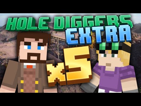 Minecraft - Five Times Processing - Hole Diggers Extra 5