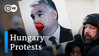 What the protests in Hungary are all about | DW News - DEUTSCHEWELLEENGLISH
