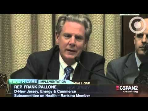 Rep. Frank Pallone:   Obama Didn't say 'You Can Keep Your Lousy Insurance Plan'