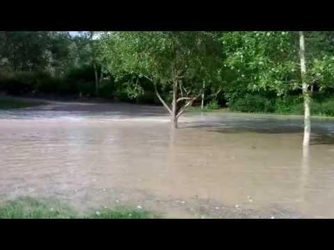 Prince's Island Flooding in Calgary