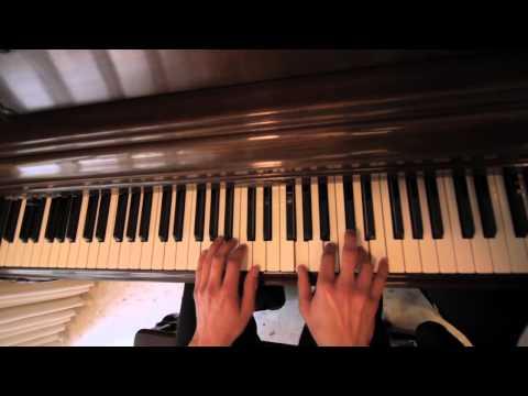 Skrillex - With You, Friends (Long Drive) Piano Birds Eye View