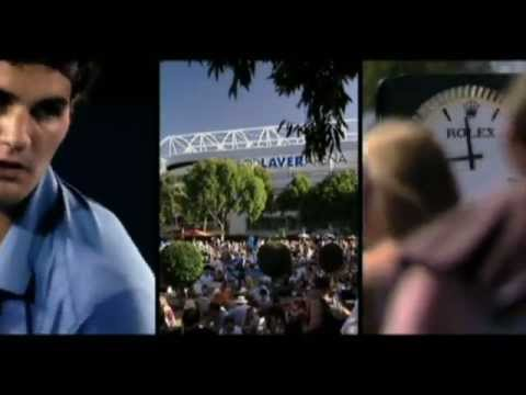 ROLEX Commercial - Australian Open 2012 with Roger Federer