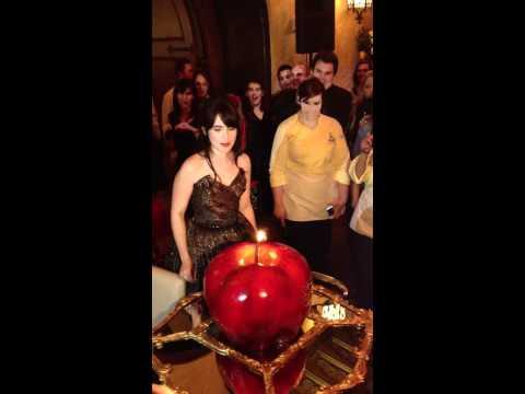Lily Collins' Birthday at Mirror Mirror Premiere