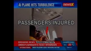 Window panel falls off after Air India plane hits severe turbulence, 3 injured in the incident - NEWSXLIVE