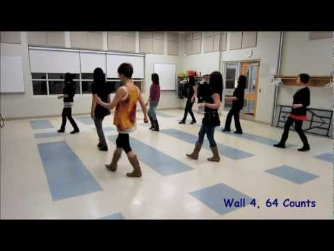Rhythm of The Night - Line Dance - Simon Ward (Dance & Teach)