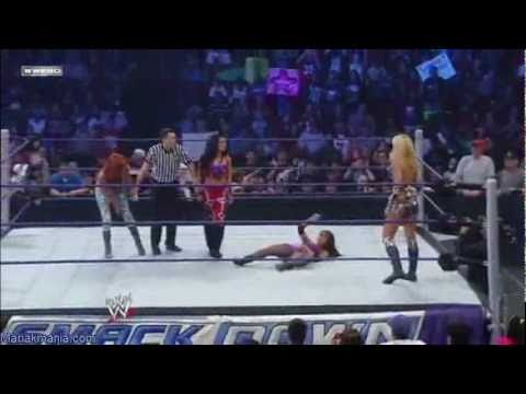 Maria & Melina vs. Laycool (7-3-09)
