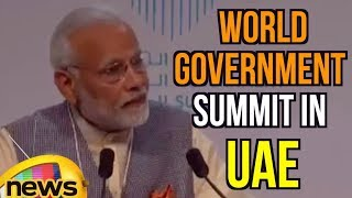 PM Modi's Amazing speech at World Government Summit 2018 in Dubai | Mango News - MANGONEWS