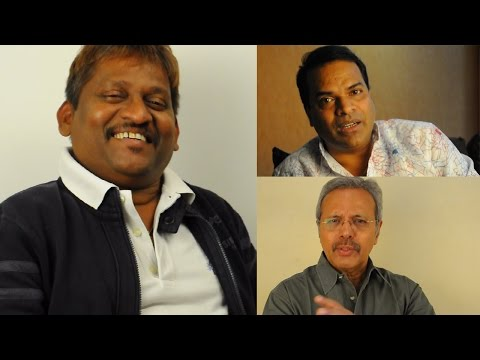 Bharat Jadhav and Satish Pulekar speak about Arun Kadam
