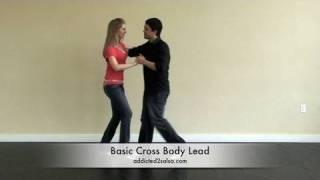 Cross Body Lead in Salsa Dancing