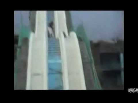 Water slide. No water