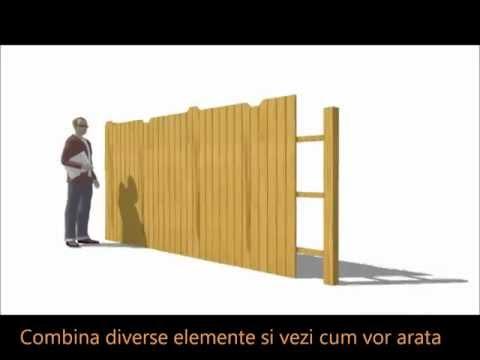 Exemplu Proiectare Gard 3D (dinlemn.com)