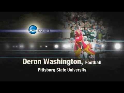 DII SAAC Deron Washington - Pittsburg State University