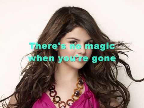 Selena Gomez - Disappear [Lyrics]
