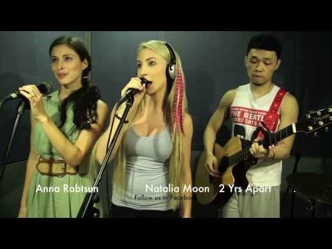 Russian and Australian Girl sing tagalog song