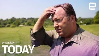 Alex Jones removed from Vimeo | Engadget Today - ENGADGET