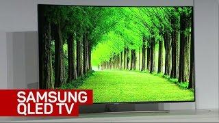 Samsung unveils QLED TV