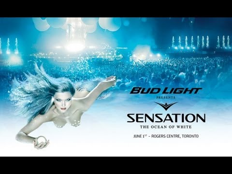 Bud Light presents Sensation Canada 2013 Line Up