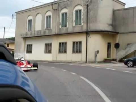 Arnoux sulla Ferrari di Gilles Villeneuve parte seconda