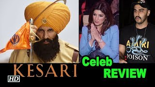 Roaring Akshay AMAZED Celebs   KESARI Celeb REVIEW - IANSINDIA