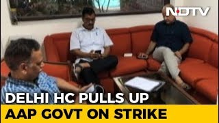 """Can't Hold Strike In Someone's House"": Court On Arvind Kejriwal Sit-In - NDTV"