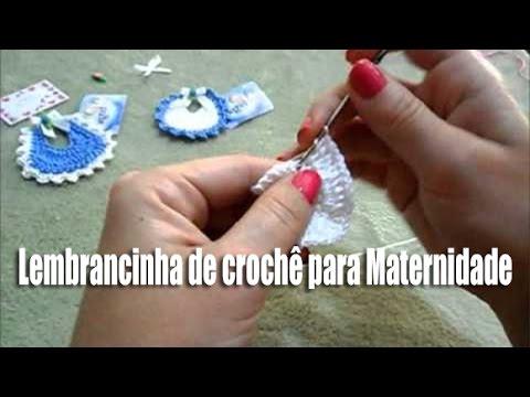 LEMBRANCINHA MATERNIDADE EM CROCHE!!!