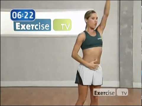 Exercise TV   Quick Incredible Abs   5   Standing Abs Jennifer Galardi 10 min.avi