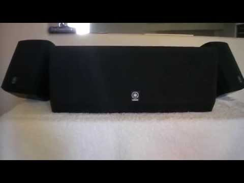Yamaha NX-E700 12 ohms / NX-C700 6 ohms, Surround Sound Speakers