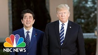 Trump hosts joint press conference with Prime Minister of Japan - NBCNEWS