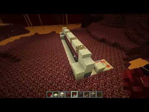 Minecraft - Tutorial: Nether Wart Farm