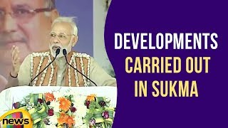 PM Modi Speaks About Developments Carried Out in Sukma, Dantewada & Bijapur districts | Mango News - MANGONEWS