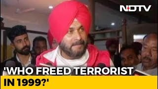 """What About Kandahar"": Navjot Sidhu Parries Attacks On Pulwama Remarks - NDTV"