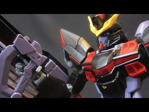 MG Blitz Gundam (Part 4: MS) Gundam Seed gunpla plastic model review