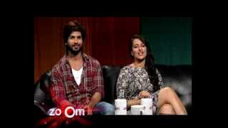 zoOming in with Omar - Shahid Kapoor and Sonakshi Sinha - R...Rajkumar - Promo