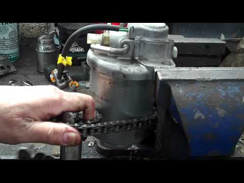 HONDA CRV 2.2 DIESEL FUEL FILTER REPLACMENT