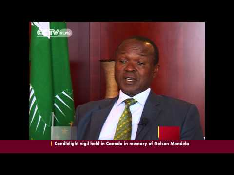 AU Deputy Commission Chair, Erastus Mwenche, talks on the Union's position the C.A.R